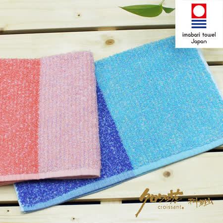 【クロワッサン科羅沙】日本毛巾~今治生產 CR花物語A 方巾 34*40CM