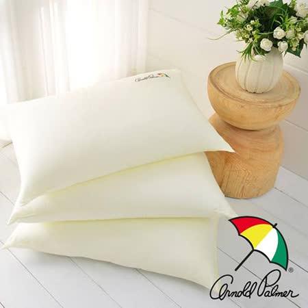 【Arnold Palmer雨傘】精梳棉牛奶絲柔順枕(2入)