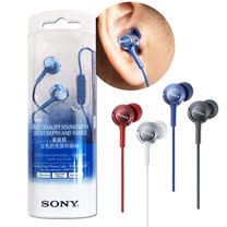 SONY 原廠立體聲線控入耳式耳機MDR-EX250AP(盒裝)