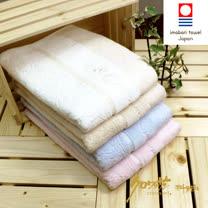 【クロワッサン科羅沙】日本毛巾~今治生產 CR玫瑰園 浴巾 72*140CM