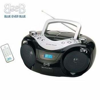 福利品-美國Blue Ever Blue 語言學習CD/USB/MP3手提音響 CD-735U