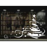 Christine 聖誕節慶佈置牆貼/玻璃貼(MA006白)