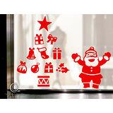 Christine 聖誕節慶佈置牆貼/玻璃貼(MA010紅)