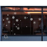 Christine 聖誕節慶佈置牆貼/玻璃貼(MA011白)