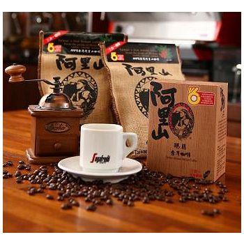 阿里山瑪翡咖啡 阿里山瑪翡咖啡-麻布袋精裝版 (任選) 18g*12包/袋