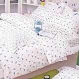 OLIVIA 《曼斯菲爾德 米白》加大雙人床包被套組(歐枕)