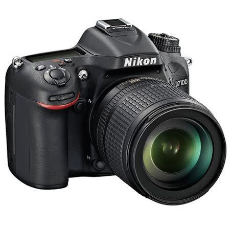 Nikon D7100+18-55mm變焦鏡組(中文平輸) - 加送SD64GC10+專屬鋰電池+單眼相機包+快門線+減壓背帶+專用拭鏡筆+相機清潔組+硬式保護貼