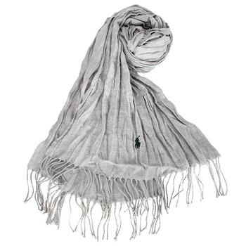 童趣简笔画羊毛围巾