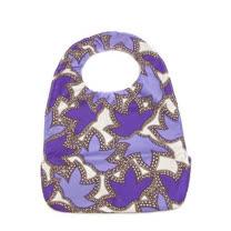 【美國JuJuBe媽咪包】BeNeat 雙面防潑水嬰兒圍兜-Lilac Lace 聽風的話
