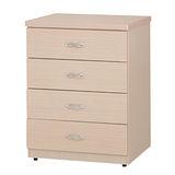 OZ 歐舒家居 Julia 三色可選 純白/白橡/胡桃 2.3尺四斗櫃