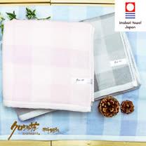 【クロワッサン科羅沙】日本毛巾~今治生產 CR棉紗無撚格 浴巾 70*140CM