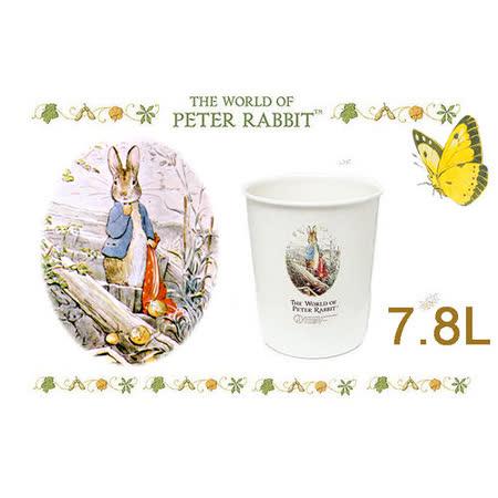 【クロワッサン科羅沙】比得兔圓形垃圾桶中 7.8L 9102