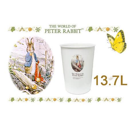 【クロワッサン科羅沙】比得兔圓形垃圾桶大 13.7L 9103