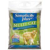 【Simplicity Plus+】喜樂加強版凝結貓砂 (7kg x2包 /  多貓家庭專用)