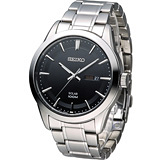 SEIKO 精工 大錶徑紳士腕錶 V158-0AS0D SNE363P1