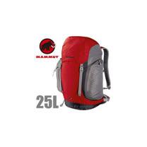 【瑞士 MAMMUT 長毛象】Creon Classic 25L 透氣舒適健行背包_2510-02021 紅灰