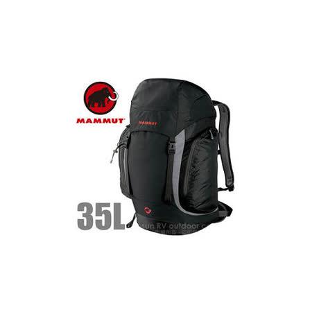 【瑞士 MAMMUT 長毛象】Creon Classic 35L 透氣舒適健行背包_2510-02021 黑