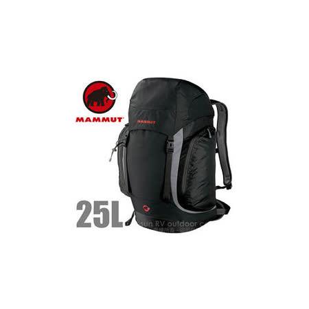 【瑞士 MAMMUT 長毛象】Creon Classic 25L 透氣舒適健行背包_2510-02021 黑