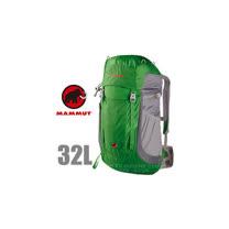 【瑞士 MAMMUT 長毛象】Creon Light 32L 輕量登山健行背包_02470 綠灰