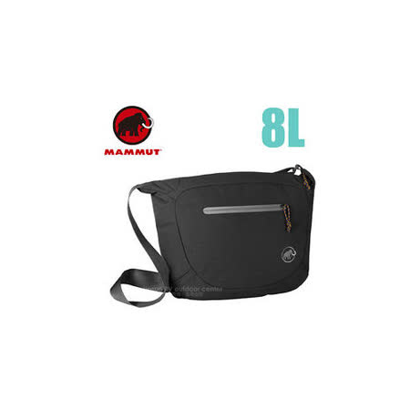 【瑞士 MAMMUT 長毛象】Shoulder Bag Round 8L 側背包_00570-0001 黑