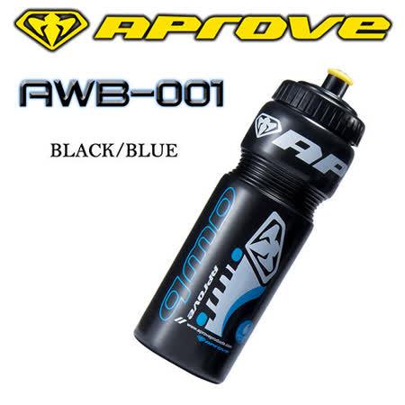APROVE 單車水壺-藍/黑