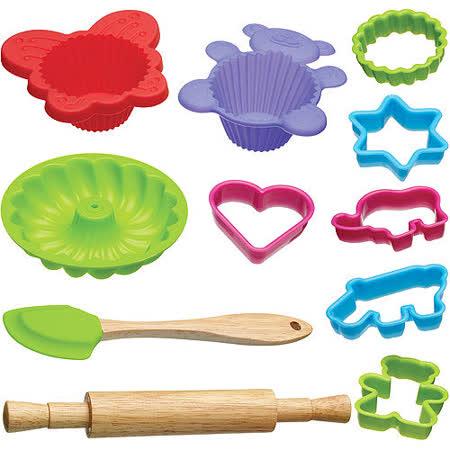 《KitchenCraft》兒童烘焙模具12件組