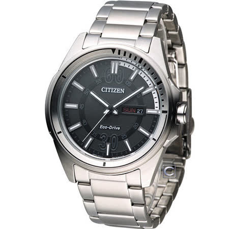 CITIZEN Eco-Drive 星辰 玩命關頭時尚腕錶 AW0030-55E