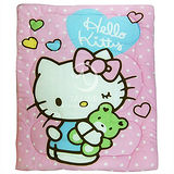 Hello Kitty【我的親親】 暖暖厚毯被