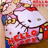 Hello Kitty【歡樂同好會】 暖暖厚毯被