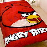 ANGRY BIRDS憤怒鳥【射擊遊戲系列】 暖暖厚毯被(紅鳥)
