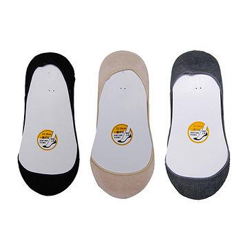 COPO無縫純棉超低止滑襪套(22~26cm) 三色任選