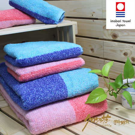 【クロワッサン科羅沙】日本毛巾~今治 花物語 浴巾毛巾方巾 整組
