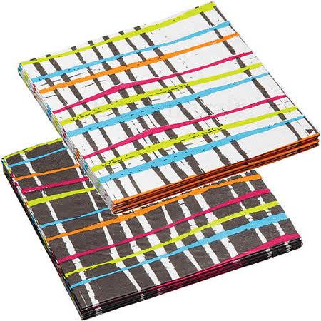 《KitchenCraft》餐巾紙20入(彩線)