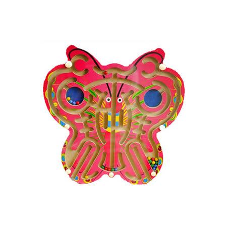 【funKids】木製幼教-蝴蝶繽紛運筆磁性迷宮