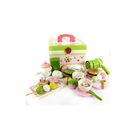 funKids 木製-日式和菓子茶道扮家家酒