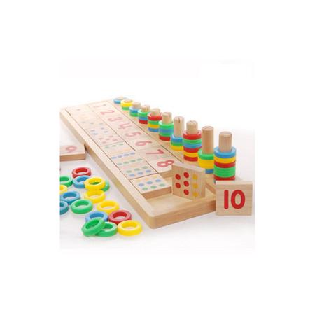 【funKids】 蒙特梭利數字配對教學組