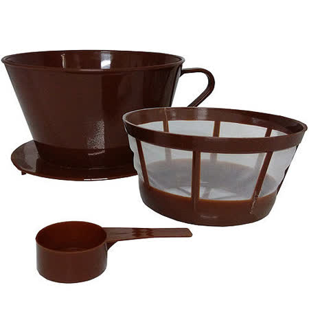 《KitchenCraft》滴漏咖啡濾器組