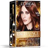 《巴黎萊雅》優媚霜時尚魅力-護髮染髮霜-5.54濃烈暖赤褐色