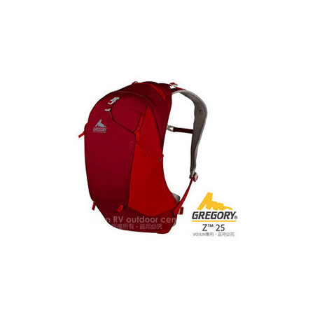 【美國 GREGORY】新款 Z25 專業輕量多功能後背包_74535 火花紅