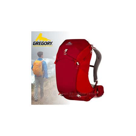 【美國 GREGORY】升級新款 Z30 專業輕量級健行登山背包30L(M號)_74539 紅