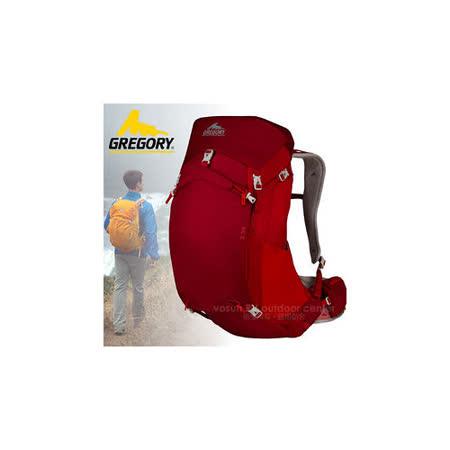 【美國 GREGORY】升級新款 Z35 專業輕量級健行登山背包35L(M號)_74545 紅