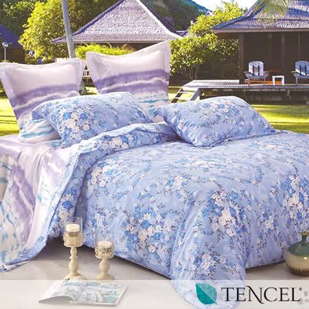 《斑斕夢》雙人100%天絲TENCEL四件式兩用被床包組