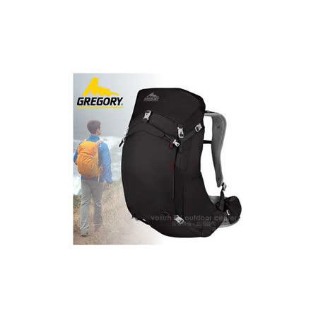 【美國 GREGORY】升級新款 Z35 專業輕量級健行登山背包35L(M號)_74547 黑