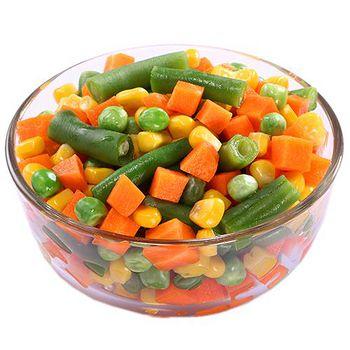 幸美生技 進口急凍有機認證蔬菜-綜合-活力四色 3公斤