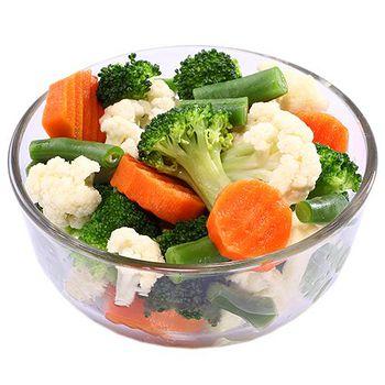 幸美生技 進口急凍有機認證蔬菜-綜合-健康時蔬 3公斤