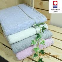 【クロワッサン科羅沙】日本毛巾~今治 抗菌菱紋 浴巾毛巾方巾 整組