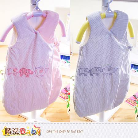 魔法Baby~嬰兒睡袋 百貨專櫃正品厚鋪棉極暖睡袋~k37326