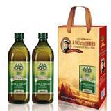 義大利Giurlani老樹超值特級冷壓橄欖油禮盒組(500mlx6瓶)
