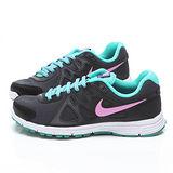 NIKE女款WMNS REVOLUTION輕量運動鞋554900025-黑藍
