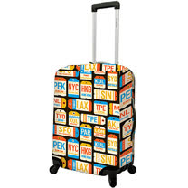《DQ》20吋行李箱套(城市)